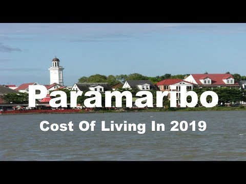 Cost Of Living In Paramaribo, Suriname In 2019, Rank 337th In The World