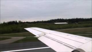 Golden Air Saab 2000 Take off From Stockholm-Arlanda