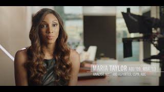 Maria Taylor - 2021 Outstanding Young Alumni Award