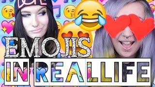 EMOJIS IN REALLIFE | Verena Schizophrenia ♥