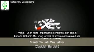 Gambar cover Maula Ya Salli Wa Sallim (Teks Indonesia)