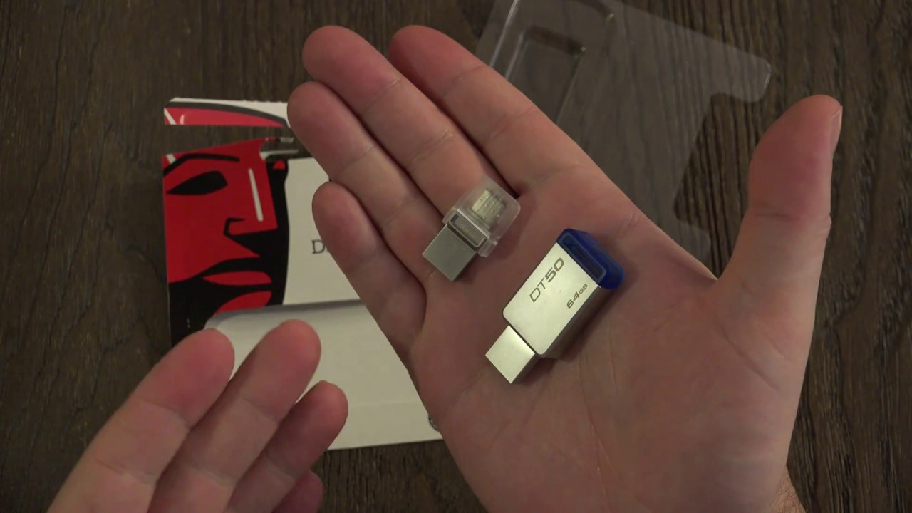 Kingston Digital 64GB USB 3.0 Data Traveler 50 - YouTube