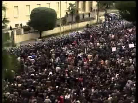 Albania Protest clash
