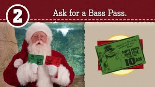 How to get your Bass Pass | Santa