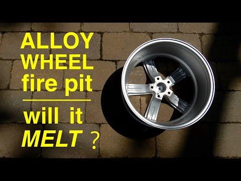 Will it Melt ?  ●  ALUMINUM RIM Fire Pit