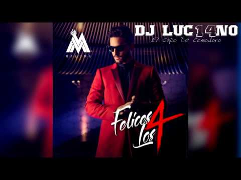 FELICES LOS 4 (Perreo Cumbiero) - Mixer Zone DJ Luc14no Antileo - MALUMA