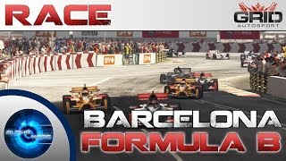 Grid Autosport Gameplay - Barcelona Memorial Run - Formula B