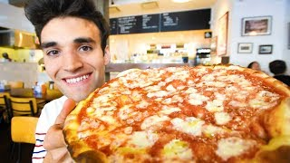 LIVING on PIZZA for 24 HOURS in NYC!