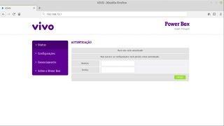 [DESBLOQUEIO] Modem da Vivo SAGEMCOM Fast 5317 (Power Box)