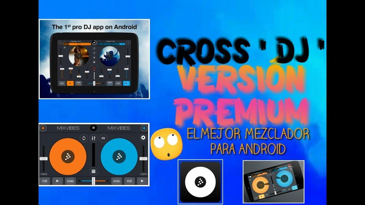 descargar cross dj pro apk gratis