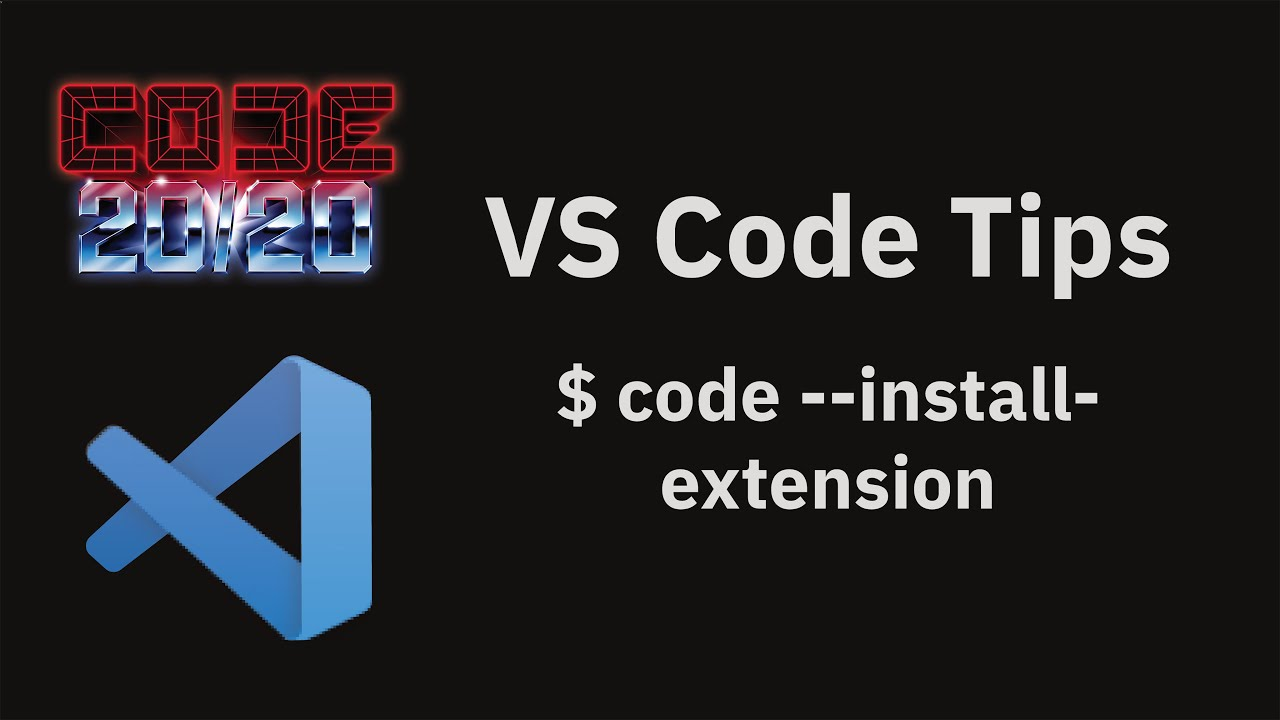 $ code --install-extension