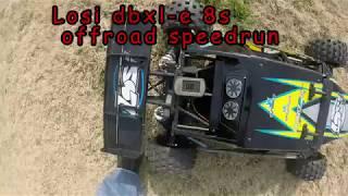 Losi dbxl-E offroad speedrun #2 8s