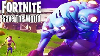 Fortnite Save The World - Starting All Over Again | Found Secret Treasure In First Level! (Xbox)
