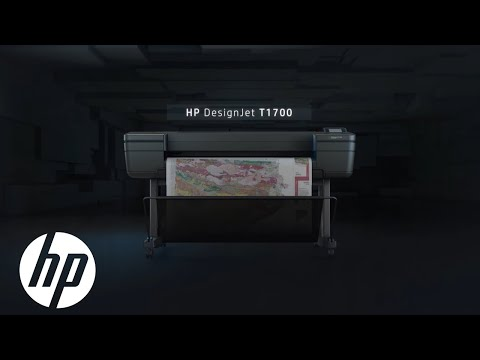 Achieve Printing Speed With The HP DesignJet T1700