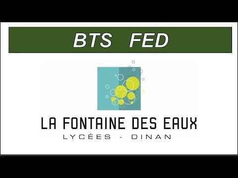 BTS FED Fluides Energies Domotique - Lycée Fontaine des eaux