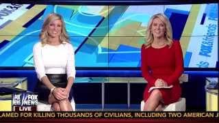 Ainsley Earhardt & Heather Childers 09-10-14