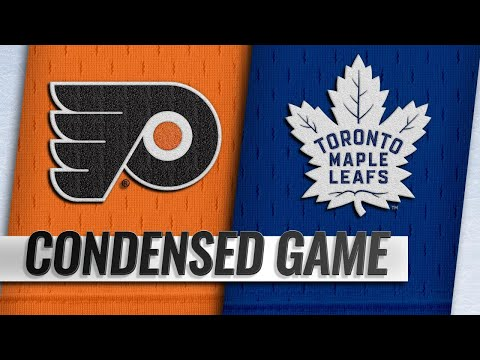11/24/18 Condensed Game: Flyers @ Maple Leafs