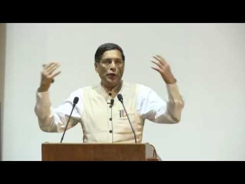 Dr. Arvind Subramanian's Lecture part-1