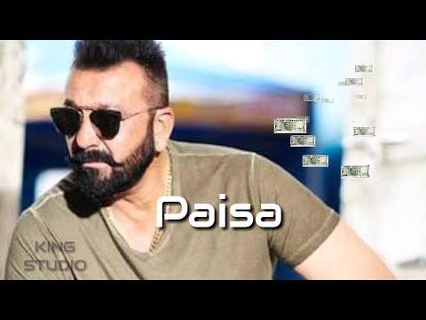 kambakht paisa || Sanjay dutt || attitude Dialogue status