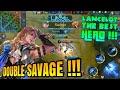 SAVAGE TERBAIK LANCELOT   NEW HERO KNIGHT   MOBILE LEGENDS : Bang-Bang #Part3