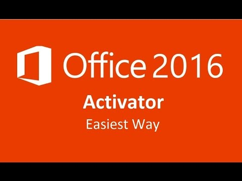How To Activate Microsoft Office 2016 Easiest Way Youtube