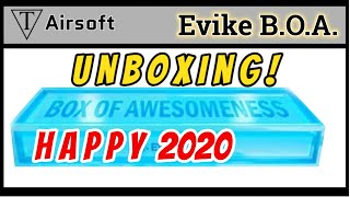 Unboxing Evike Box of Awesomeness Flash Happy2020 - TriFecta Airsoft 132