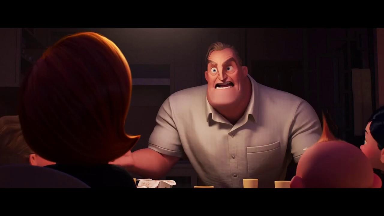 Download Incredibles 2 (2018) - Dinner Scene (2/10) | Cartoon Clips