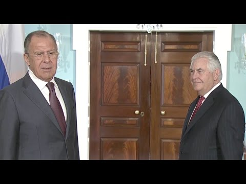 Russian Foreign Minister Jokes About Comey Firing