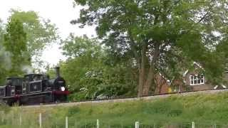 Kent & East Sussex Railway Southern Branch Line Sunset Gala 23/05/2015