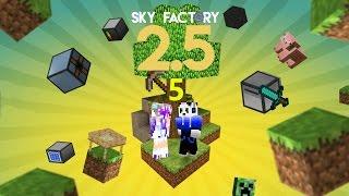 מיינקראפט- 2.5 Sky Factory- פרק 5: עובדים עליי!