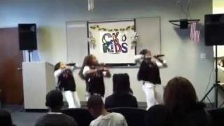 Young Fly Girlz perform on MLK Day - No Bullying and Non-Violence Awareness