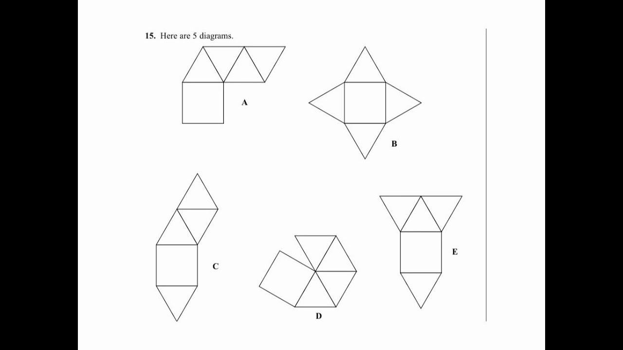 15 3d shapes