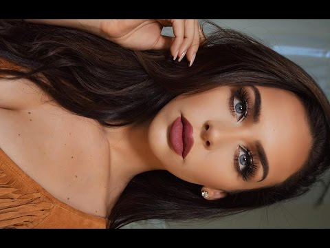 Copper & Plum | Dramatic FALL Makeup Tutorial | Carli Bybel Palette