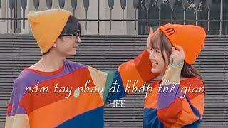 Nắm Tay Nhau Đi Khắp Thế Gian - Linh Hee | Official Lyrics Video