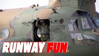 海上自衛隊 #下総航空基地 #CH47 #チヌーク #大型輸送ヘリコプター [Ple...
