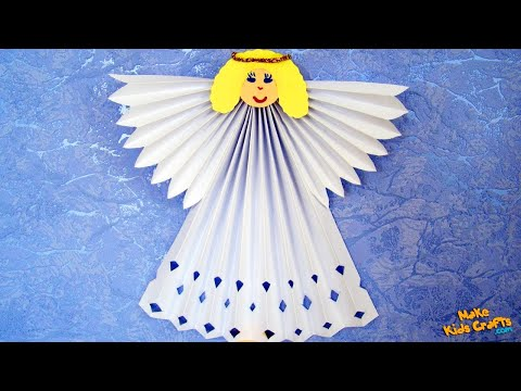 How to make Paper Angel? DIY