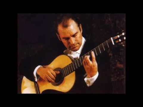 Julian Bream: 1975 live concert playing Weiss, Bach, Searle, Falla, and Arnold