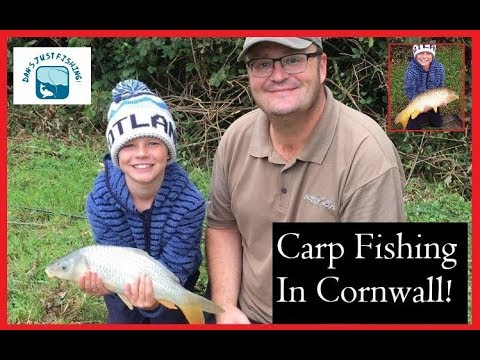 Carp Fishing In Cornwall! Henry's Personal Best 'Beast' Of A Common!