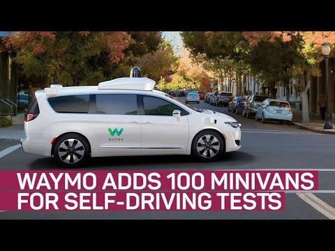 Waymo nearly triples its self-driving car fleet (CNET News)