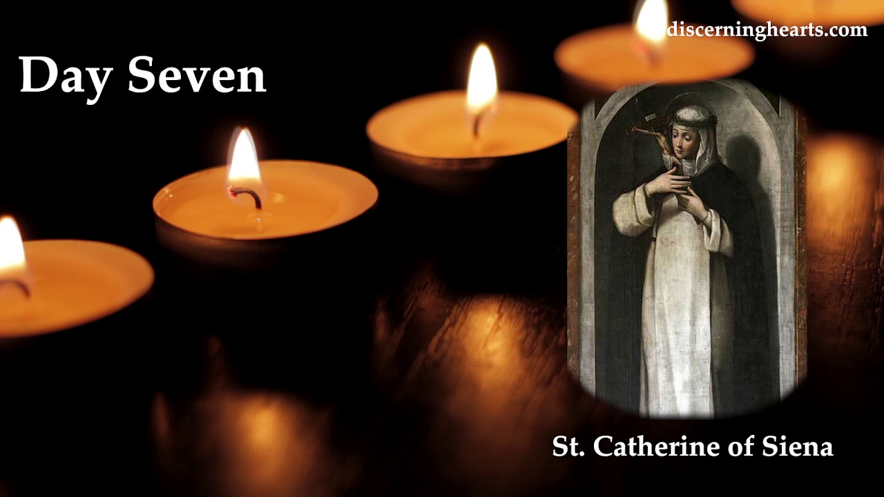 Novena to St. Catherine of Siena - Day Seven - YouTube