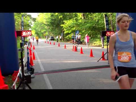 Glen Arbor Solstice 5K Finish