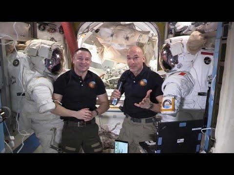 محطة الفضاء الدولية تستعد للقاء مركبة سبيس إكس 19 - دراغون…  - 06:58-2019 / 12 / 14