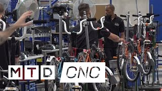 MTDCNC visit Brompton Bicycles new Factory