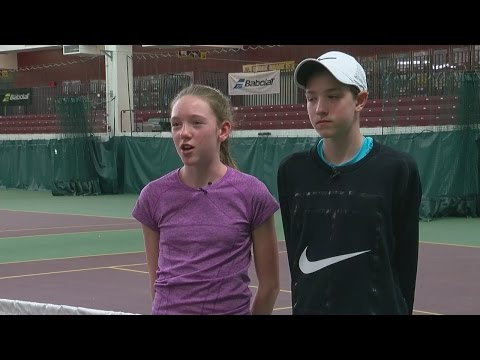 Eastview's Star Tennis Players Find Their Best Coaches At Home