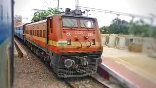 AC Superfast Express Racing with 12679 InterCity Express | Parallel Action and Overtake