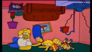 Simpsons couch gags | Season 8