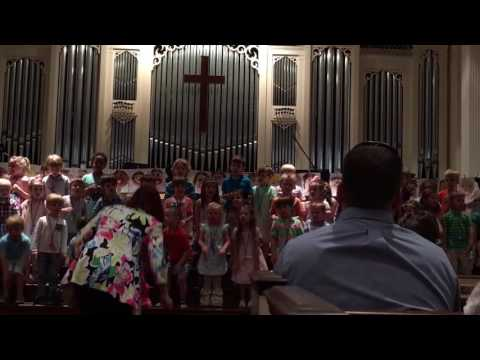 "Silas' class ""Masterpiece Performance"" at Cedar Springs Weekday School - Thurs. May 4, 2017 - Pt.  1"