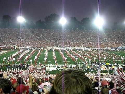 |¤| Alabama vs. Texas ~ Million Dollar Band on-field pre-game performance