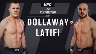 KFC Fight night 13, 14, 15, 16 (EA UFC 3)