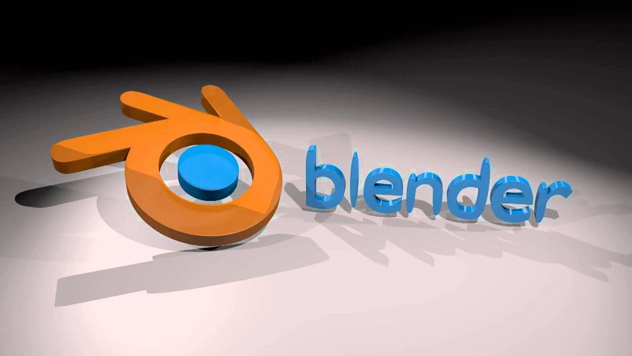blender titlelogo render youtube